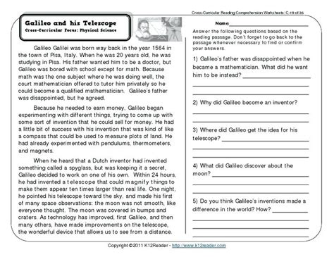 comprehension worksheets year 7 free reading grade 5