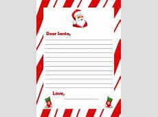 Letters From Santa Templates cyberuse