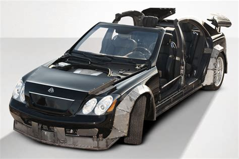 Jay-z And Kanye's Wrecked Maybach Fetches Just ,000 At