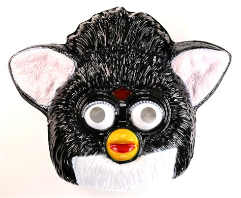Ebay.com has been visited by 1m+ users in the past month Vintage Tiger Electronics Black Furby Halloween Mask 1990s Hasbro BS