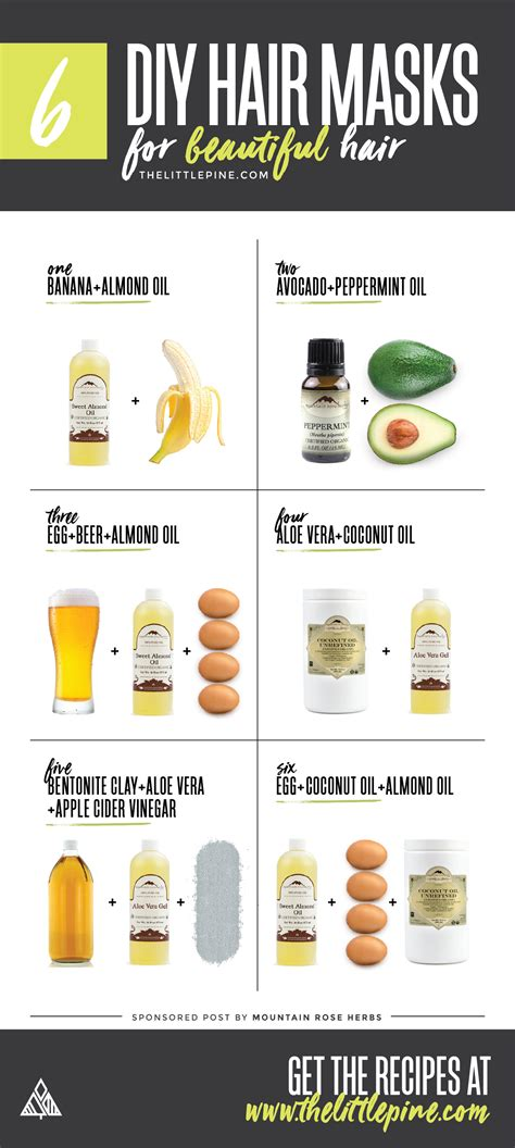 vitamins to help with hair 6 diy hair masks little pine low carb