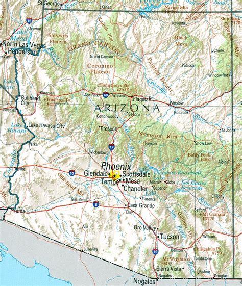 Maps Arizona Edventures