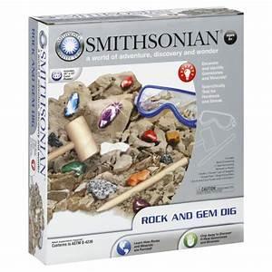 Smithsonian Rock and Gem Dig, 1 set - Toys & Games ...