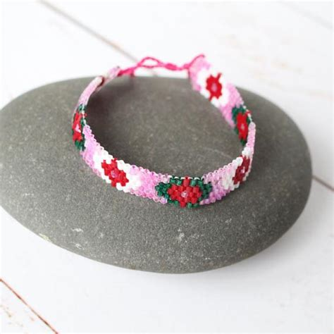 Pink Friendship Seed Beed Wrap Bracelet Boho Festival. Beautiful Diamond. Vertical Necklace. Handmade Earrings. Twist Bangles. Simple Gold Necklace. Vine Rings. Simple Engagement Rings. Egyptian Pendant
