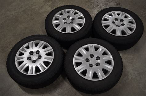 15-inch 5-bolt Steel Wheels & Covers