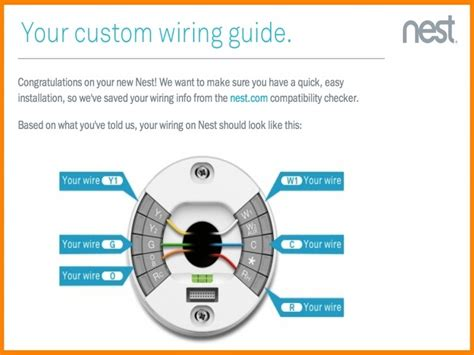 Nest Electric Heat Pump Thermostat Wiring Diagram