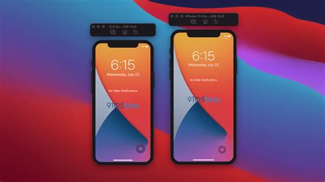 inch iphone ios apple beta display update upcoming revealed resolution screen pollici glimpse through size1 neuen interface gives betaversion system