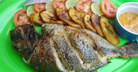 cuisine africaine recette dorade au four et marinade aux épices africaines recette