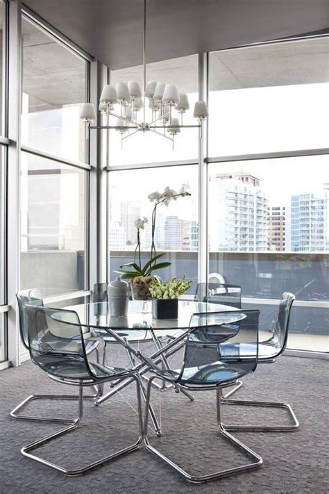 Acrylic Tobias IKEA Ghost Chairs ~ http://lanewstalk.com