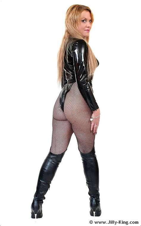 Pantyhose Mistress Jilly King Wearing Latex Outfit And Whip Pichunter