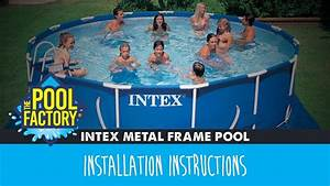 Intex Metal Frame Pools Instructions