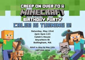 bachelorette party invitation wording minecraft birthday party invitations kids birthday