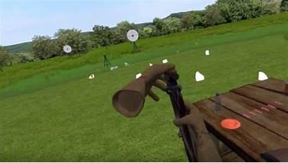 Gun Vr Pull Recoil Club Shooting Shotgun