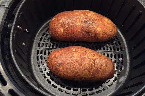 baked air potatoes fryer baking oil take salt recipes salute poked washed oz seasoning shakes give skipthesalt