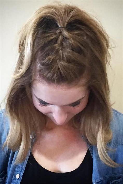 casual hairstyles for medium hair 33 casual and easy updos for hair hair styles