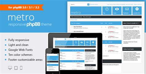 A Responsive Theme For Phpbb3 By Pixelgoose