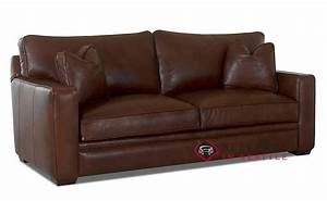 Customize And Personalize Houston Queen Leather Sofa By