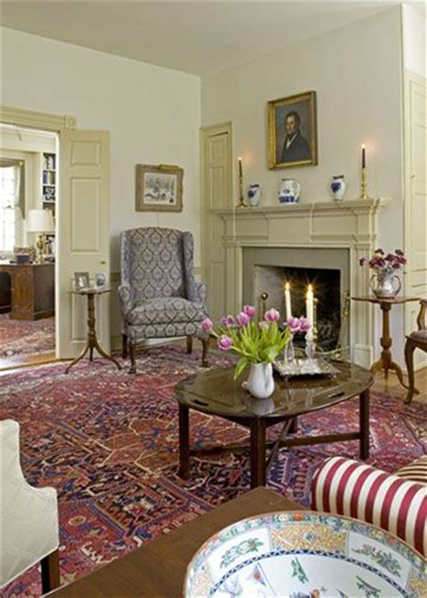 images  colonial  early american living rooms  pinterest primitive living