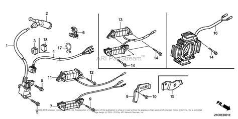 honda engines gx390t2 qapw engine tha vin gcbdt 1000001 parts diagram for ignition coil 2