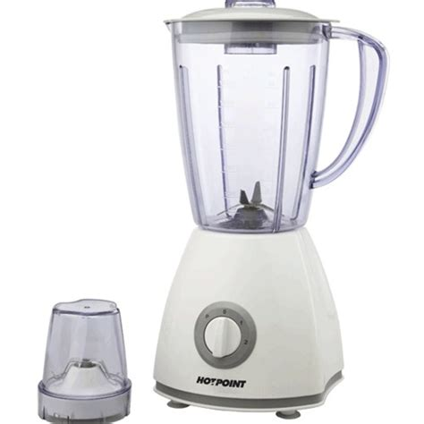 Kitchen Blender Specs by Hotpoint Hb251kw 500w H Spec Blender 1mill White