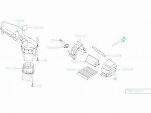 Subaru Forester Motor Blower  Air