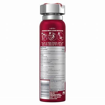 Spray Antiperspirant Invisible Pure Deodorant Spice