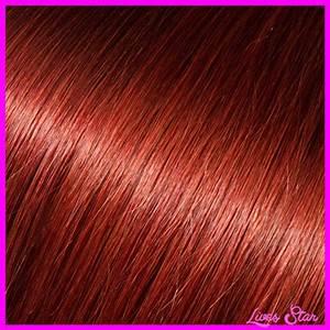 Auburn Red Hair Color Chart