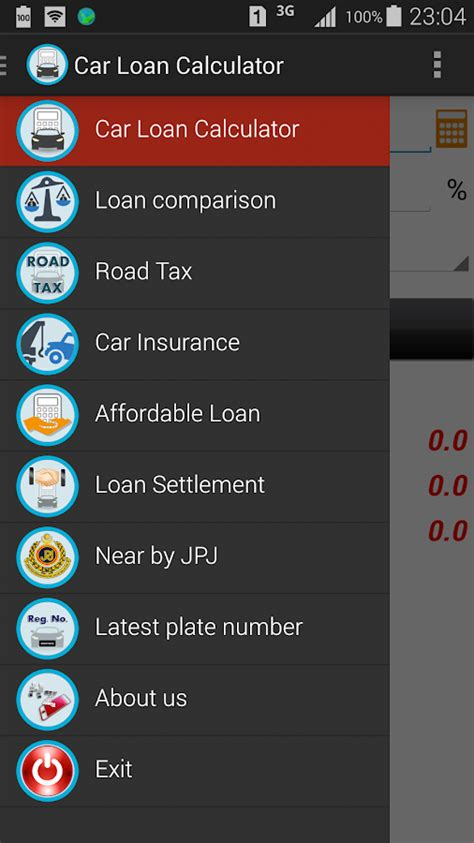 car loan calculator malaysia android apps  google play