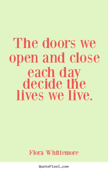 Doors Open Close Quotes