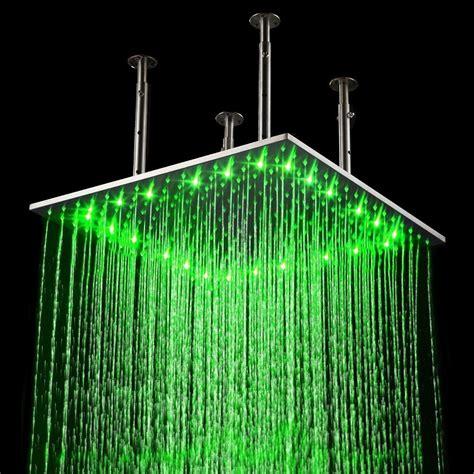 Led Shower by Rainfall Led Shower 187 Gadget Flow