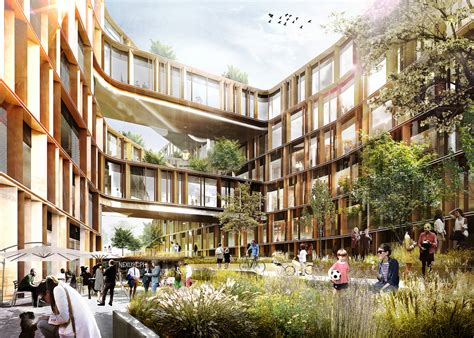 government bureau arkitema architects selected to design offices for