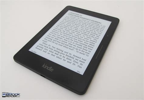 Kindle Voyage Video Walkthrough and First Impressions
