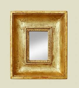 Miroir Doré Ancien : petit miroir ancien cadre bois dor 19 me ~ Teatrodelosmanantiales.com Idées de Décoration