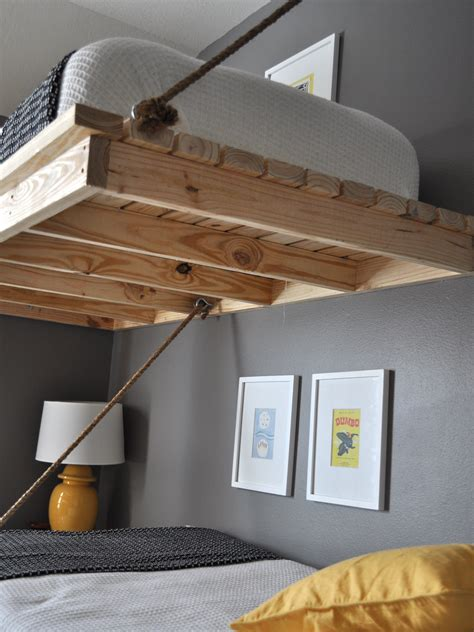 how to make a suspended bed handmade the bumper crop