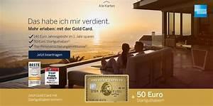 Effektiver Jahreszins Kreditkarte : aktion american express gold karte mit 50 startguthaben beantragen kreditkarte ~ Orissabook.com Haus und Dekorationen