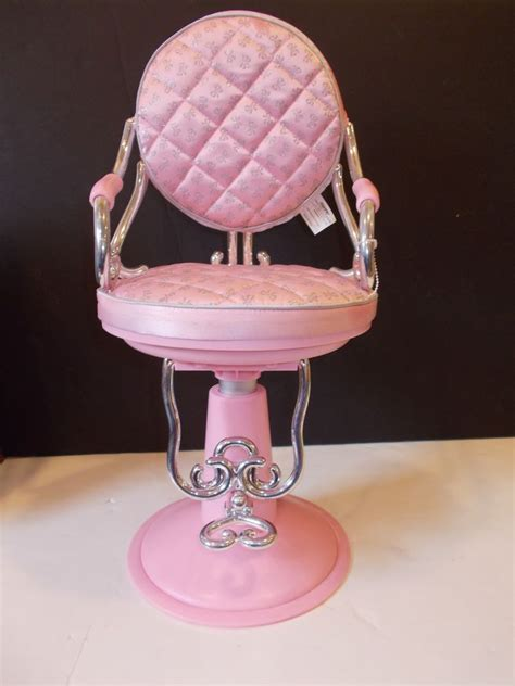 American Salon Chair And Wrap Set by Pink Hair Salon Chair Fits 18 Quot Doll American Our