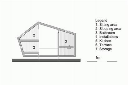 Trek Hermans Architectuur Kristel Cabins Hicker Archdaily