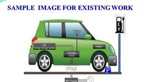 Electric Vehicles Power The Motor By by Wireless Power Transfer For Electric Vehicle Charging