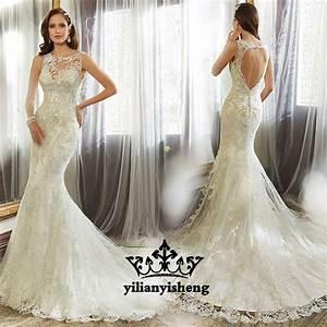 Dress backless dress wedding dress wedding gown lace for Oxiclean wedding dress
