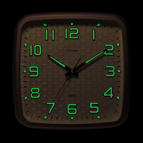 plumeet inch wall clock with classics and specified