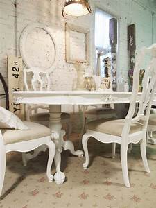 White shabby chic dining table large and beautiful for White dining table shabby chic country