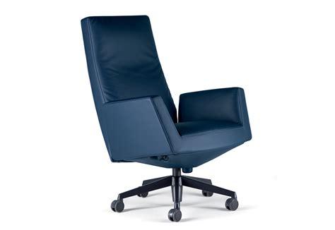 Chancellor Swivel Chair High By Poltrona Frau