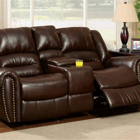 Loveseat Console by Dundee Seat W Center Console