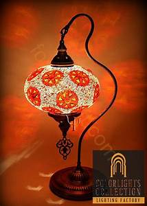 mosaic lamps ottoman lamps turkish lighting With white mosaic floor lamp