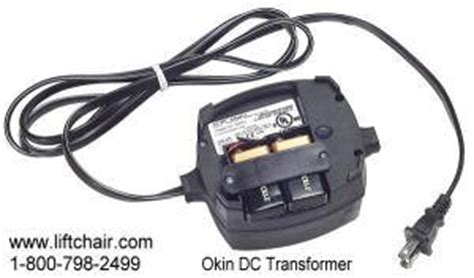 okin lift chair power supply okin power supply two prong dc