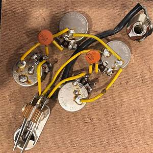 Vintage 1965 Gibson Sg Or Les Paul Wiring Harness