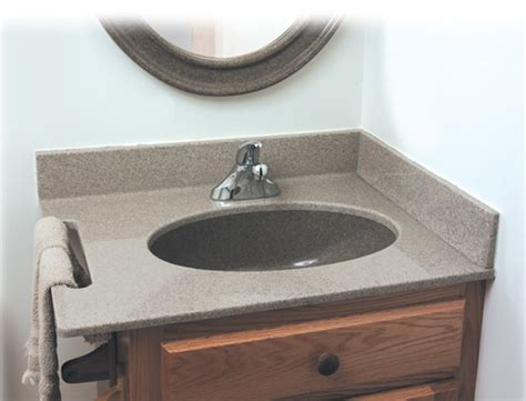 bathroom vanity tops syn mar products