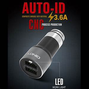 Id Auto : ldnio c303 auto id 3 6a 2 port usb car charger micro usb cable black ce rohs fcc ~ Gottalentnigeria.com Avis de Voitures