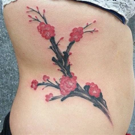 prettiest cherry blossom tattoos