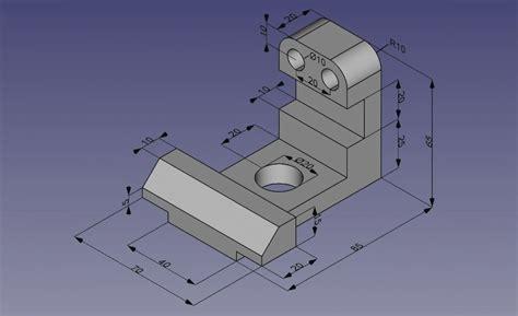 freecad    parametric modeler
